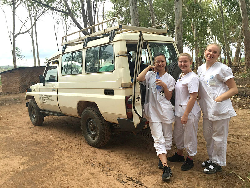 Sykepleiestudenter i praksis i Malawi-1